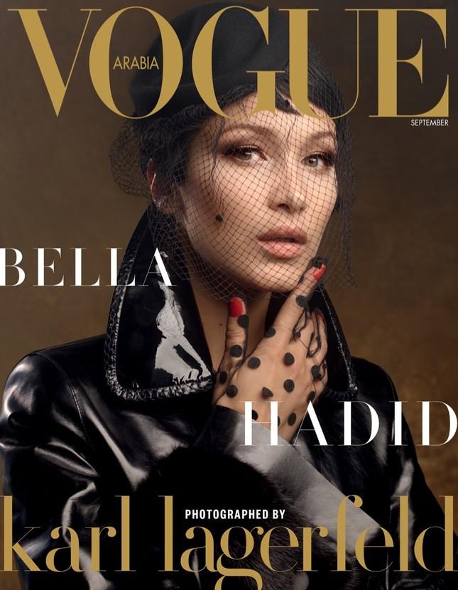 'Chân dài' Bella Hadid quá đỗi gợi cảm trên hàng loạt ấn phẩm Vogue ảnh 8