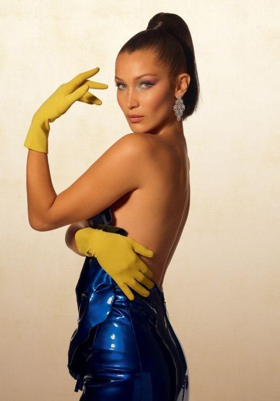 'Chân dài' Bella Hadid quá đỗi gợi cảm trên hàng loạt ấn phẩm Vogue ảnh 1