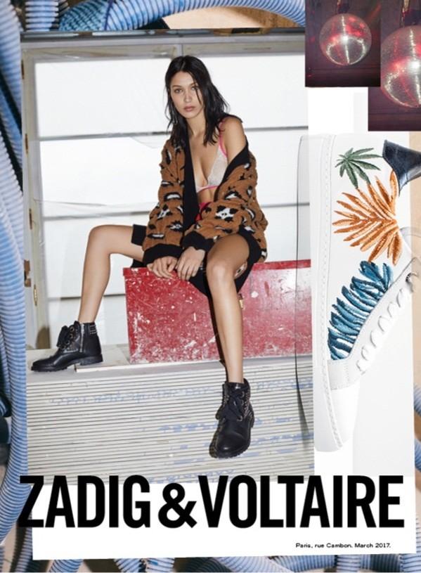 'Chân dài' Bella Hadid quá đỗi gợi cảm trên hàng loạt ấn phẩm Vogue ảnh 35