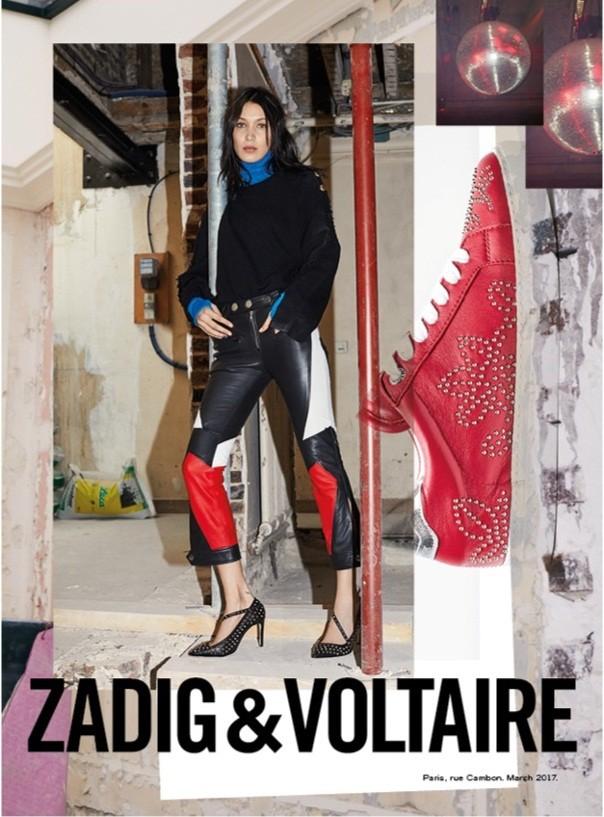 'Chân dài' Bella Hadid quá đỗi gợi cảm trên hàng loạt ấn phẩm Vogue ảnh 36