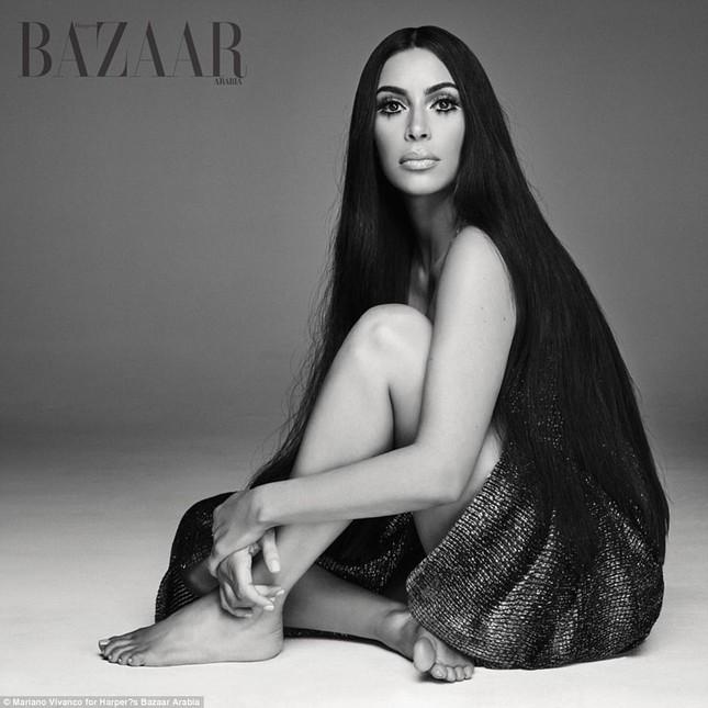 Kim Kardashian hóa 'nữ thần disco' rực lửa Cher ảnh 8