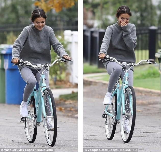 Selena Gomez tràn ngập hạnh phúc bên tình cũ Justin Bieber ảnh 3