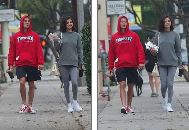 Selena Gomez tràn ngập hạnh phúc bên tình cũ Justin Bieber ảnh 15