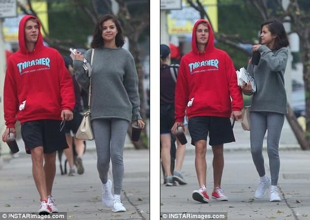 Selena Gomez tràn ngập hạnh phúc bên tình cũ Justin Bieber ảnh 16