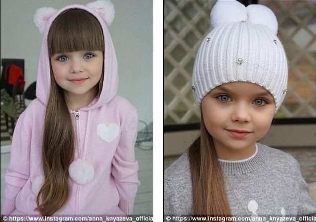 Cô bé người Nga 6 tuổi xinh như búp bê ngoài đời thực ảnh 11