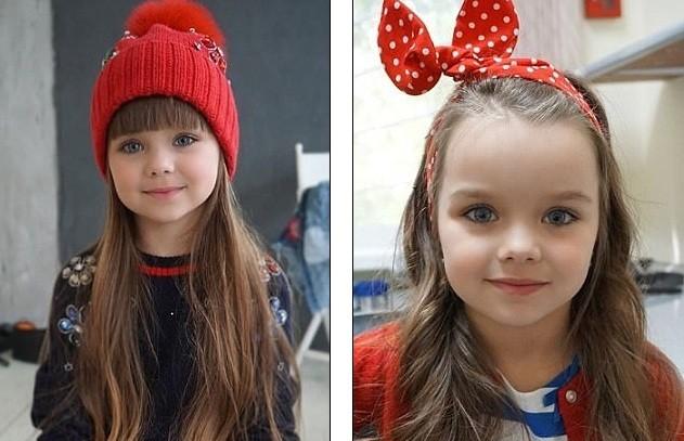 Cô bé người Nga 6 tuổi xinh như búp bê ngoài đời thực ảnh 1