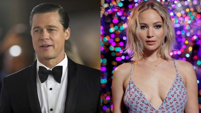 Brad Pitt vướng tin đồn hẹn hò mỹ nhân lộ ảnh nóng Jennifer Lawrence ảnh 3