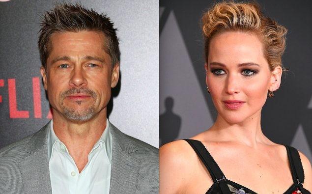 Brad Pitt vướng tin đồn hẹn hò mỹ nhân lộ ảnh nóng Jennifer Lawrence ảnh 1