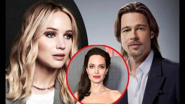 Brad Pitt vướng tin đồn hẹn hò mỹ nhân lộ ảnh nóng Jennifer Lawrence ảnh 7