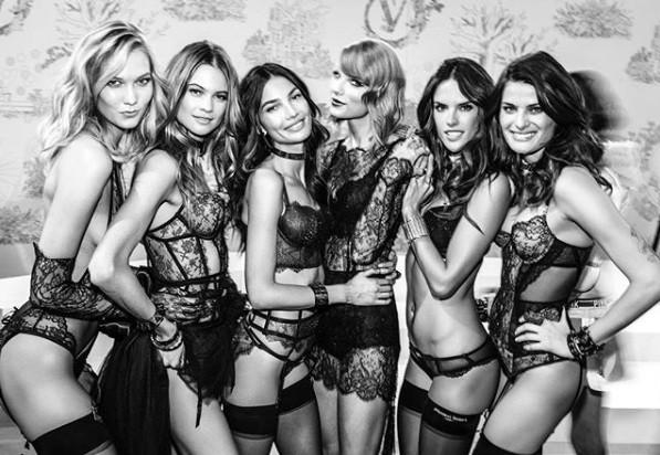 Những bức hình thiên thần Victoria's Secret cực 'hot' lần đầu được tiết lộ ảnh 9