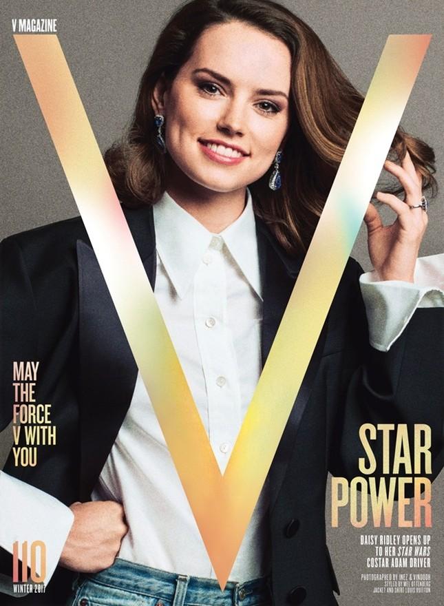 Daisy Ridley: Cô đào gợi cảm vụt sáng thành sao nhờ 'Star Wars' ảnh 13