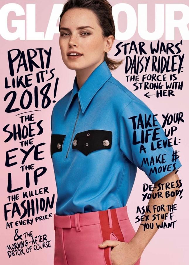 Daisy Ridley: Cô đào gợi cảm vụt sáng thành sao nhờ 'Star Wars' ảnh 15