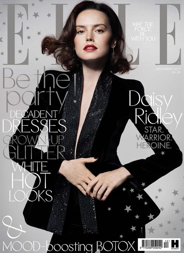 Daisy Ridley: Cô đào gợi cảm vụt sáng thành sao nhờ 'Star Wars' ảnh 14