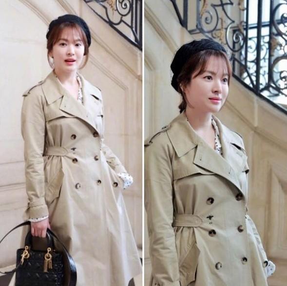 Song Hye Kyo tỏa sáng nhan sắc không tuổi tại show thời trang Dior ảnh 1