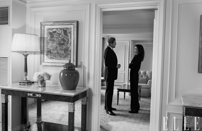 Angelina Jolie đẹp quyền lực, trả lời phỏng vấn của cựu ngoại trưởng Mỹ ảnh 3