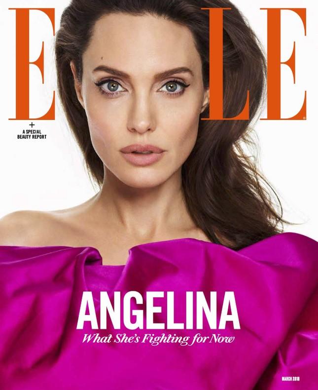 Angelina Jolie đẹp quyền lực, trả lời phỏng vấn của cựu ngoại trưởng Mỹ ảnh 7
