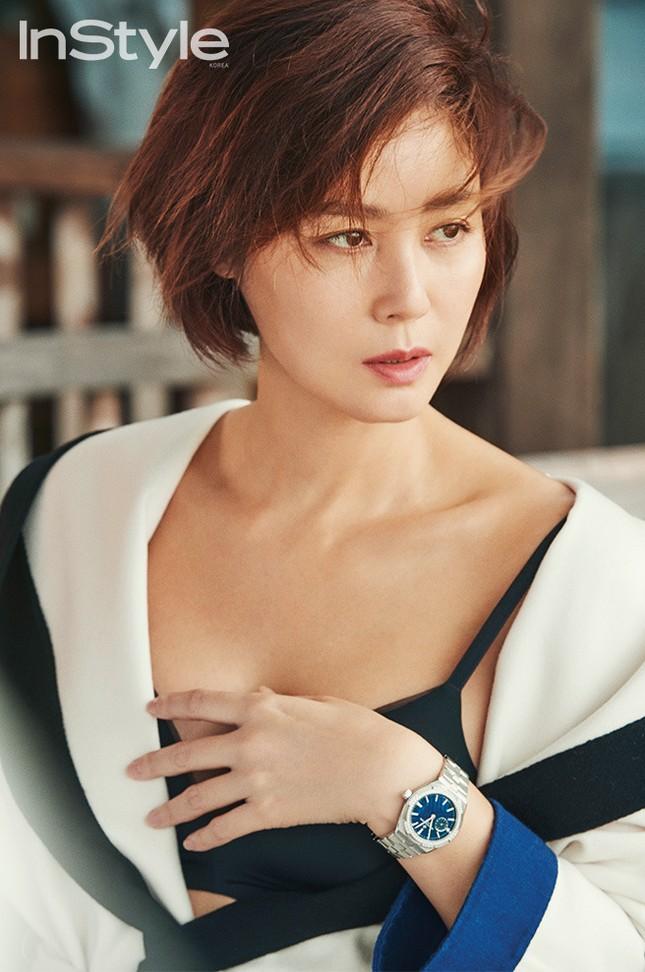 Cựu Hoa hậu Hàn Quốc 51 tuổi trẻ đẹp gợi cảm như đôi mươi ảnh 9
