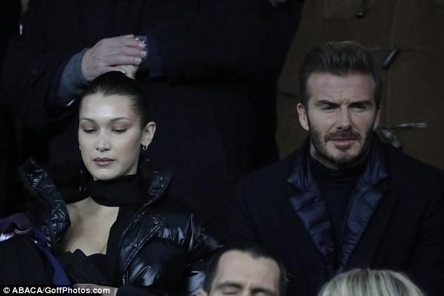 David Beckham trò chuyện thân mật cùng nàng mẫu gợi cảm Bella Hadid ảnh 6