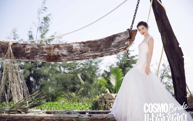 Mỹ nhân 'Tuyệt đỉnh Kungfu' xinh đẹp trong ảnh cưới sau loạt scandal ảnh 4