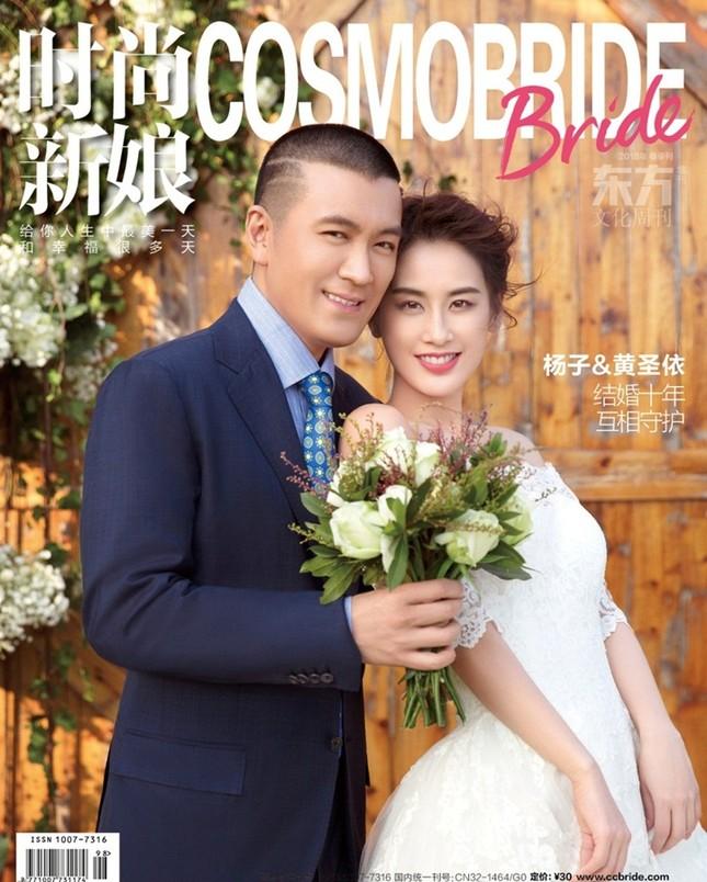 Mỹ nhân 'Tuyệt đỉnh Kungfu' xinh đẹp trong ảnh cưới sau loạt scandal ảnh 8
