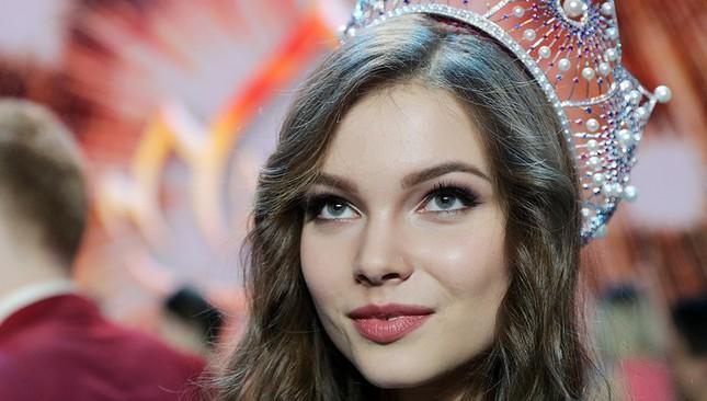 Vẻ thanh xuân tươi trẻ của cô gái 18 tuổi lên ngôi Hoa hậu Nga 2018 ảnh 4