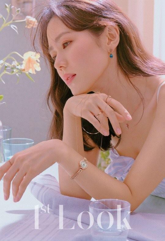 Vẻ đẹp dịu ngọt thanh khiết của 'chị đẹp' Son Ye Jin ảnh 2