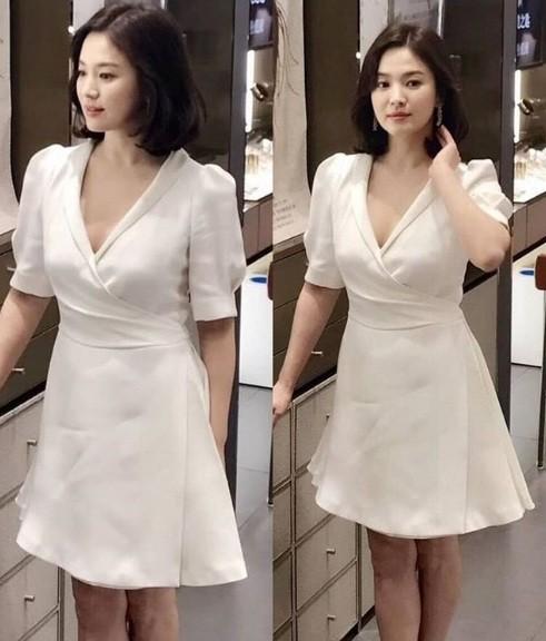 Song Hye Kyo duyên dáng nền nã ở Thượng Hải ảnh 10