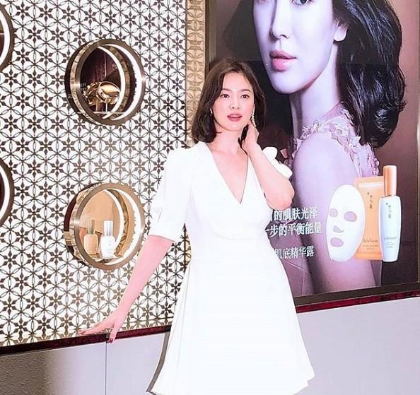 Song Hye Kyo duyên dáng nền nã ở Thượng Hải ảnh 9