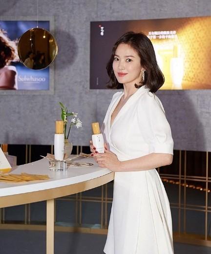 Song Hye Kyo duyên dáng nền nã ở Thượng Hải ảnh 5