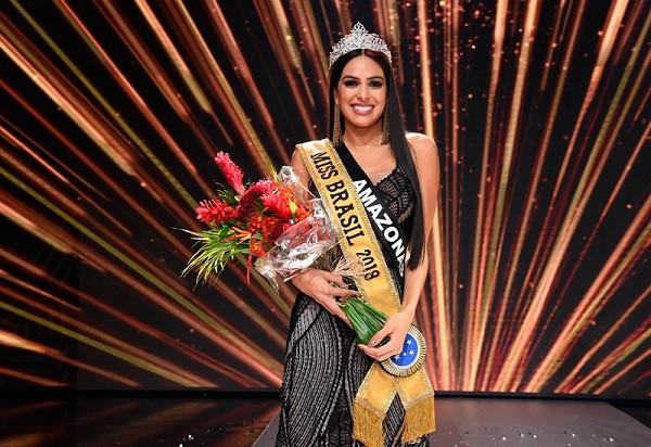 Người đẹp 26 tuổi đăng quang Hoa hậu Brazil 2018 ảnh 1