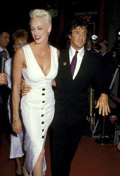 Vợ cũ 'người hùng cơ bắp' Sylvester Stallone sinh con ở tuổi 54 ảnh 12