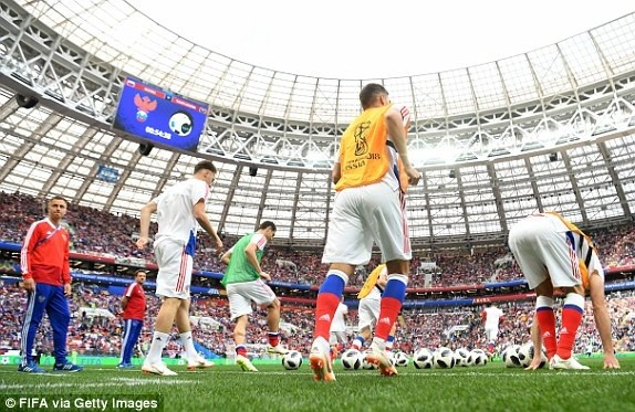 Nước Nga tưng bừng náo nhiệt khai hội World Cup 2018 ảnh 53