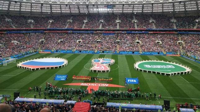 Nước Nga tưng bừng náo nhiệt khai hội World Cup 2018 ảnh 61