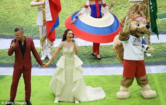 Nước Nga tưng bừng náo nhiệt khai hội World Cup 2018 ảnh 60