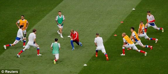 Nước Nga tưng bừng náo nhiệt khai hội World Cup 2018 ảnh 54
