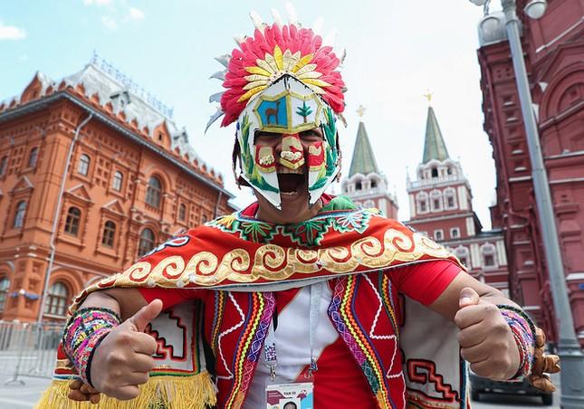 Moscow nhiệt cuồng không khí World Cup trước giờ khai mạc ảnh 1