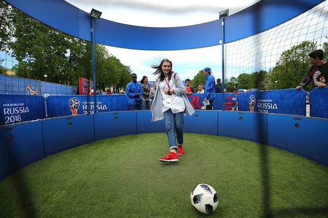 Nước Nga tưng bừng náo nhiệt khai hội World Cup 2018 ảnh 15