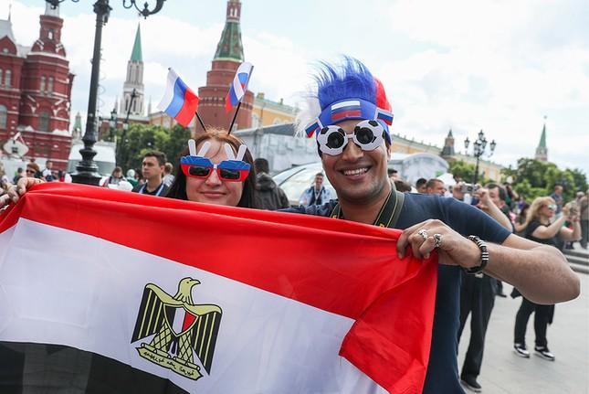 Moscow nhiệt cuồng không khí World Cup trước giờ khai mạc ảnh 4