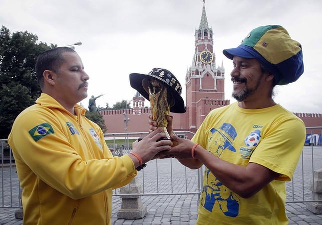 Moscow nhiệt cuồng không khí World Cup trước giờ khai mạc ảnh 5