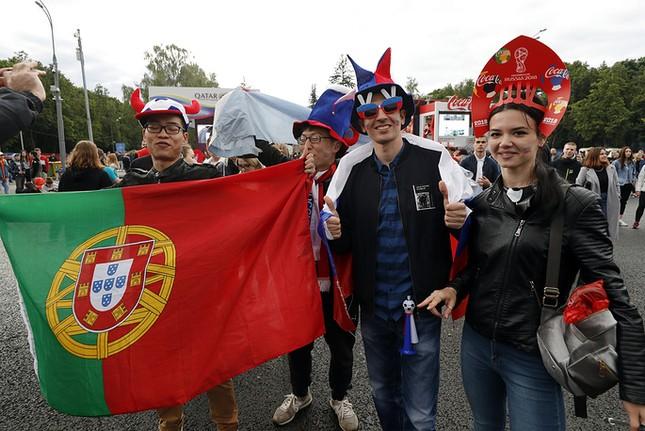 Moscow nhiệt cuồng không khí World Cup trước giờ khai mạc ảnh 7