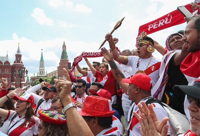 Moscow nhiệt cuồng không khí World Cup trước giờ khai mạc ảnh 8