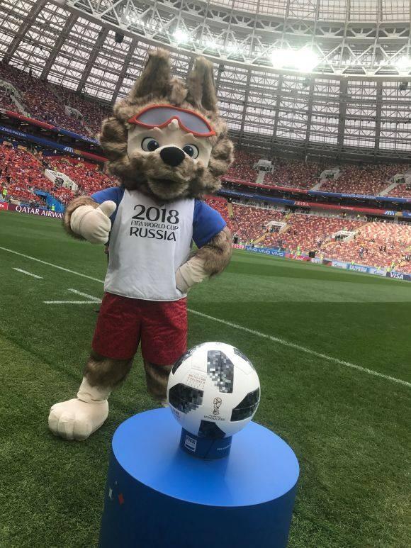 Nước Nga tưng bừng náo nhiệt khai hội World Cup 2018 ảnh 38