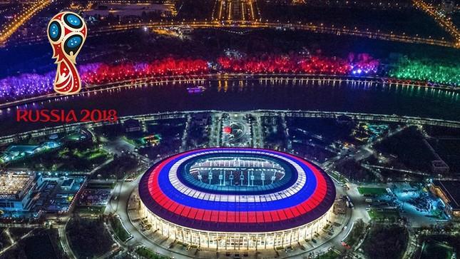 Nước Nga tưng bừng náo nhiệt khai hội World Cup 2018 ảnh 13