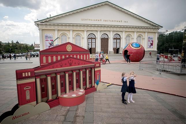 Nước Nga tưng bừng náo nhiệt khai hội World Cup 2018 ảnh 16