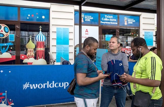 Nước Nga tưng bừng náo nhiệt khai hội World Cup 2018 ảnh 17