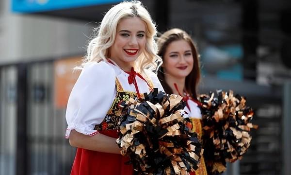 Nước Nga tưng bừng náo nhiệt khai hội World Cup 2018 ảnh 32