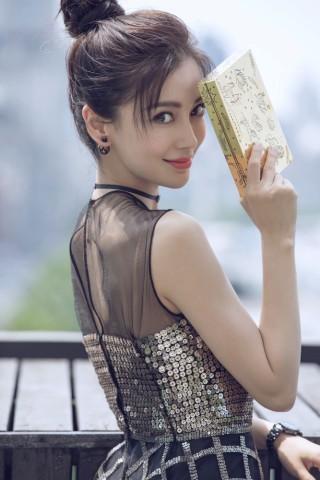Dương Mịch váy ngắn chân thon đọ sắc Angelababy yêu kiều ảnh 12