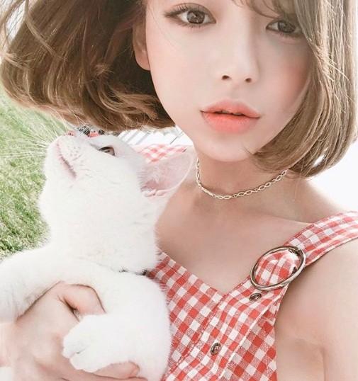 Xao xuyến nét dễ thương của cô nàng xứ Hàn 'bản sao' Angelababy ảnh 8