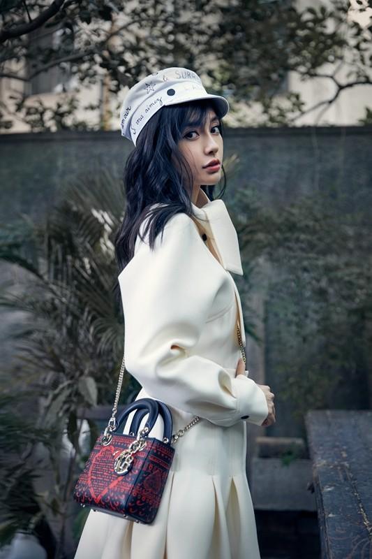 Xao xuyến nét dễ thương của cô nàng xứ Hàn 'bản sao' Angelababy ảnh 3