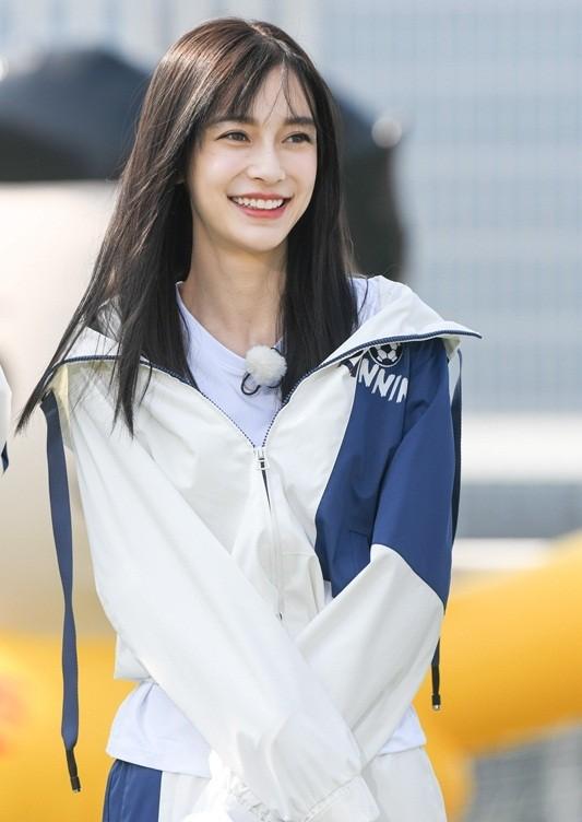 Xao xuyến nét dễ thương của cô nàng xứ Hàn 'bản sao' Angelababy ảnh 4